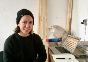 Artist-In-Residence winter/spring: Kate Sterchi (USA)